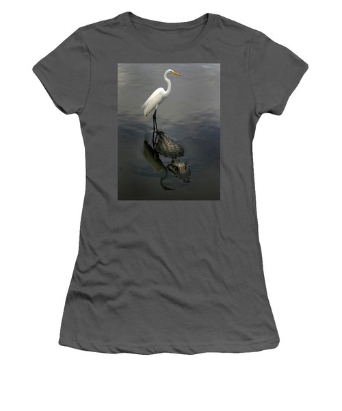 Hitch Hiker Women's T-Shirt (Junior Cut) by Anthony Jones