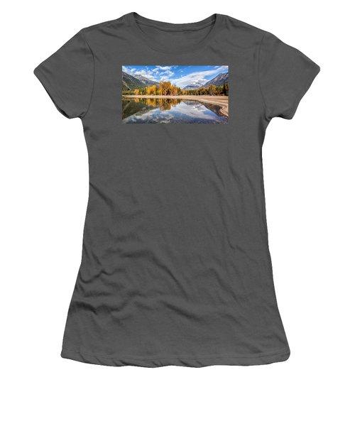 Into The Wild Women's T-Shirt (Junior Cut) by Aaron Aldrich