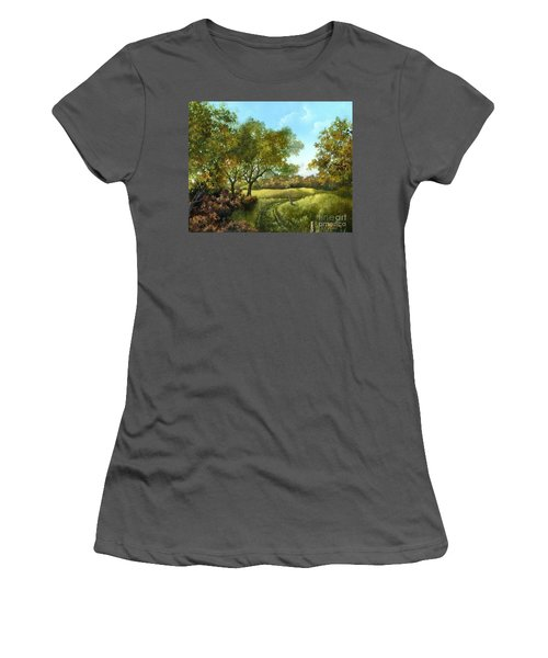 Luray Pasture Women's T-Shirt (Athletic Fit)