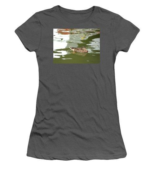 Mallard Women's T-Shirt (Athletic Fit)