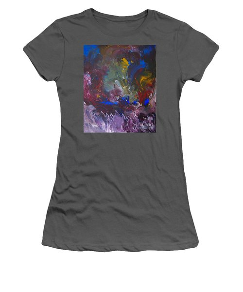 Midnight Ride Women's T-Shirt (Athletic Fit)