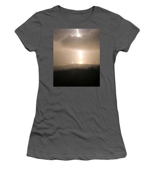 Women's T-Shirt (Junior Cut) featuring the photograph Minuteman IIi Missile Test by Science Source