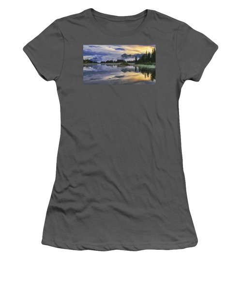 Molas Lake Sunrise Women's T-Shirt (Athletic Fit)