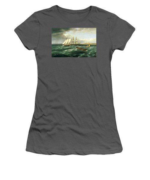 Mouth Of The Delaware Women's T-Shirt (Athletic Fit)