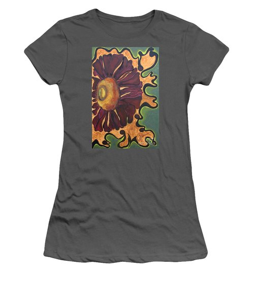 Old Fashion Flower Women's T-Shirt (Athletic Fit)