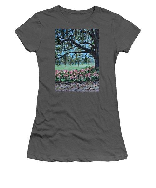 Savannah Spring Women's T-Shirt (Athletic Fit)