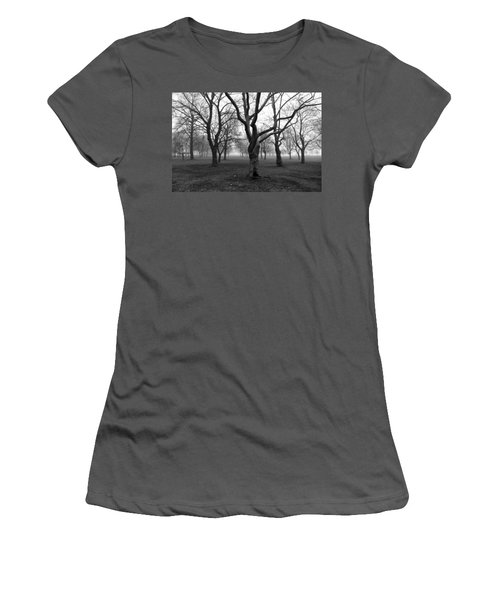 Seaside By The Tree Women's T-Shirt (Athletic Fit)