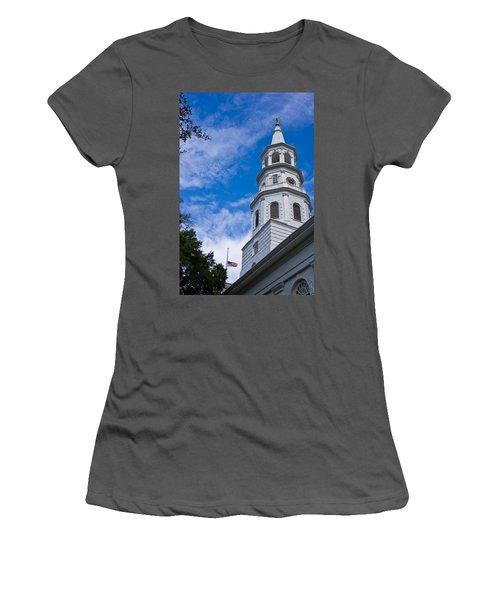St. Michael's Episcopal Women's T-Shirt (Athletic Fit)