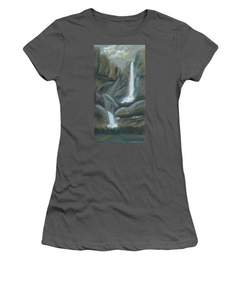 Tears Of The Moon Women's T-Shirt (Athletic Fit)