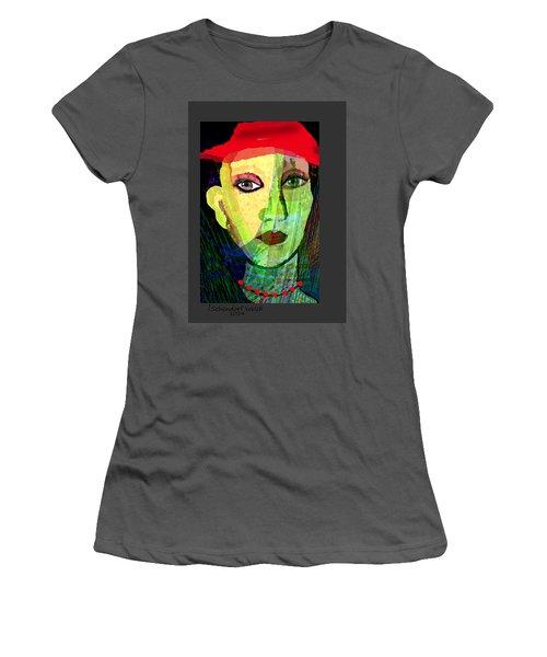 1084 - La  Signora ... Women's T-Shirt (Athletic Fit)