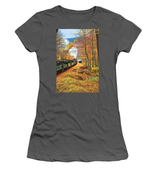 Cass Scenic Railroad Women's T-Shirt (Athletic Fit)