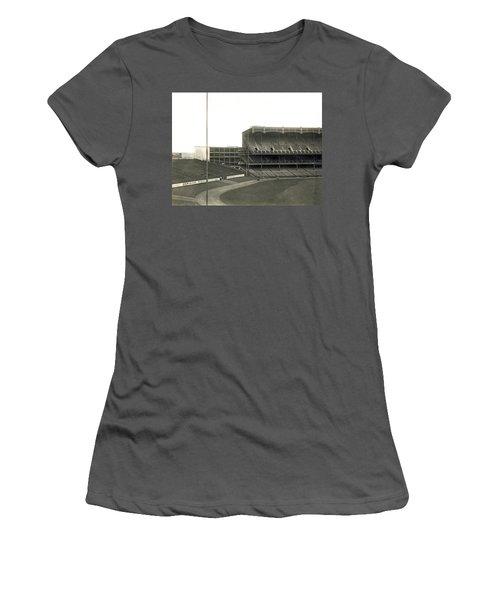 1923 Yankee Stadium Women's T-Shirt (Junior Cut) by Underwood Archives