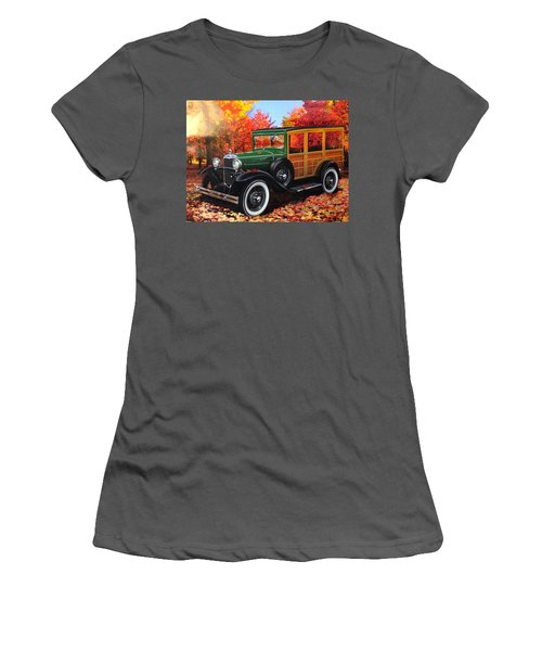 1931 Type 150-b Ford Women's T-Shirt (Junior Cut) by Carlos Avila