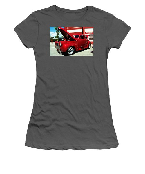 1940 Chevy Women's T-Shirt (Junior Cut) by Kevin Fortier