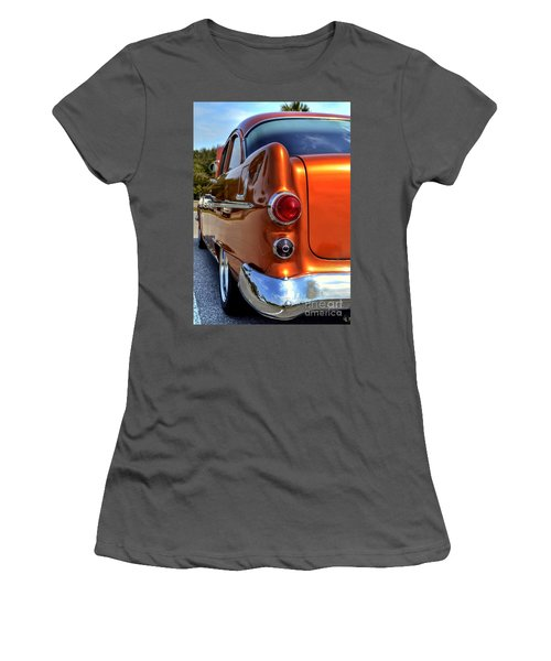 1955 Pontiac Women's T-Shirt (Athletic Fit)