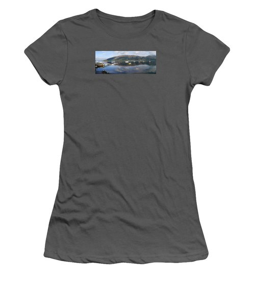 Along Loch Leven 3 Women's T-Shirt (Junior Cut) by Wendy Wilton