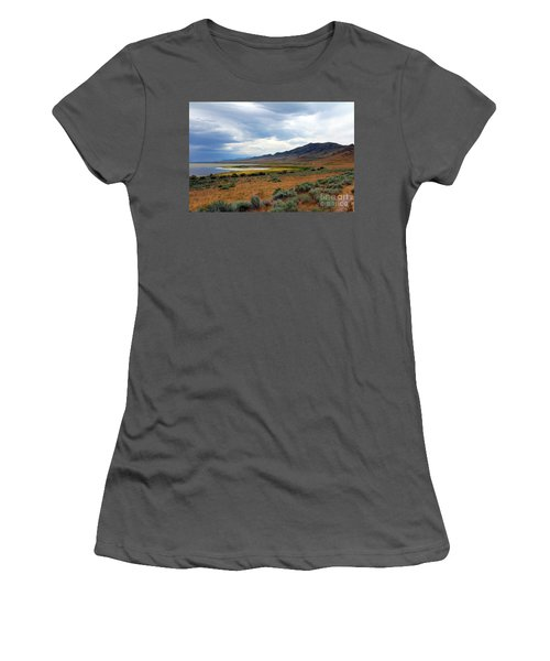 Antelope Island Women's T-Shirt (Athletic Fit)