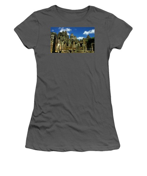 Bayon Temple Women's T-Shirt (Athletic Fit)