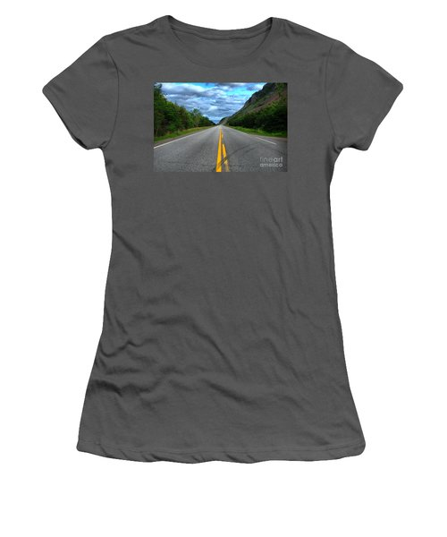 Women's T-Shirt (Junior Cut) featuring the photograph Cabot Trail by Joe  Ng