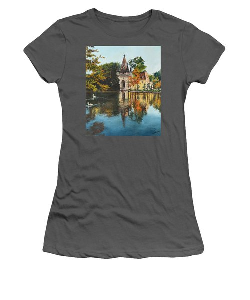 Castle On The Water Women's T-Shirt (Athletic Fit)