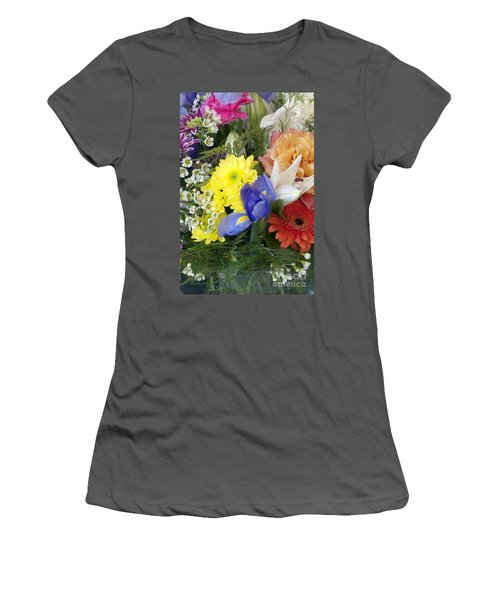 Floral Bouquet 4 Women's T-Shirt (Athletic Fit)