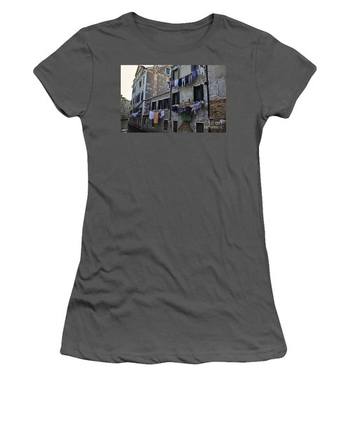 Hanging Out To Dry In Venice Women's T-Shirt (Athletic Fit)
