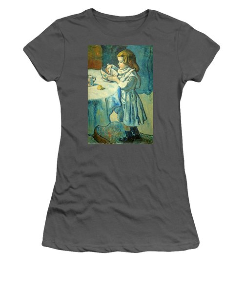 Picasso's Le Gourmet Women's T-Shirt (Athletic Fit)