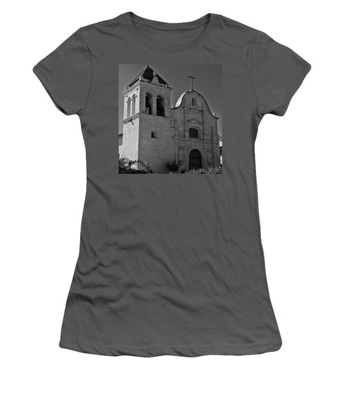 San Carlos Cathedral Women's T-Shirt (Junior Cut) by Ron White