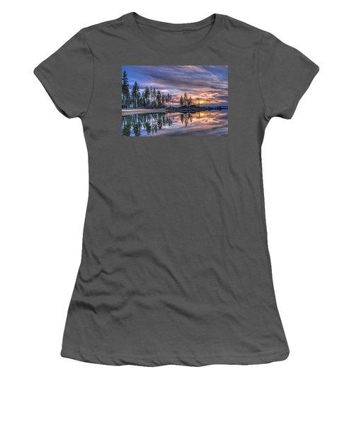 Waning Winter Women's T-Shirt (Athletic Fit)
