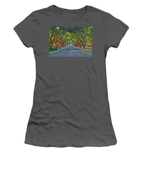 South Boundary Women's T-Shirt (Athletic Fit)