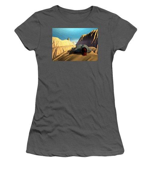 The Midlife Dreamer Women's T-Shirt (Junior Cut) by John Alexander