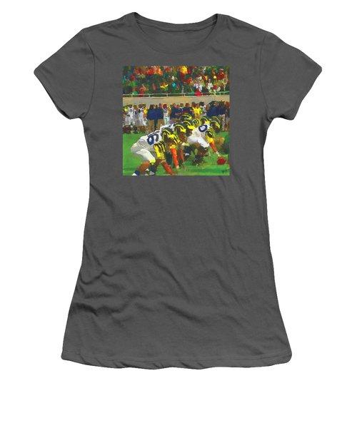 The War Women's T-Shirt (Junior Cut) by John Farr