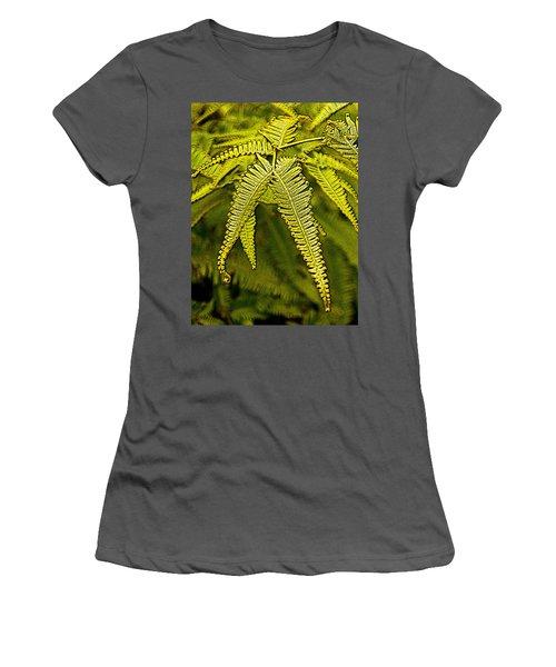 Uluhe Fern Women's T-Shirt (Athletic Fit)