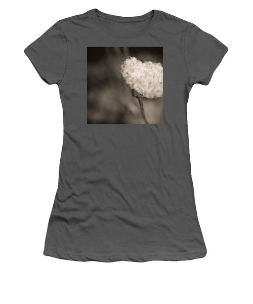 Women's T-Shirt (Junior Cut) featuring the photograph White Whisper by Sara Frank