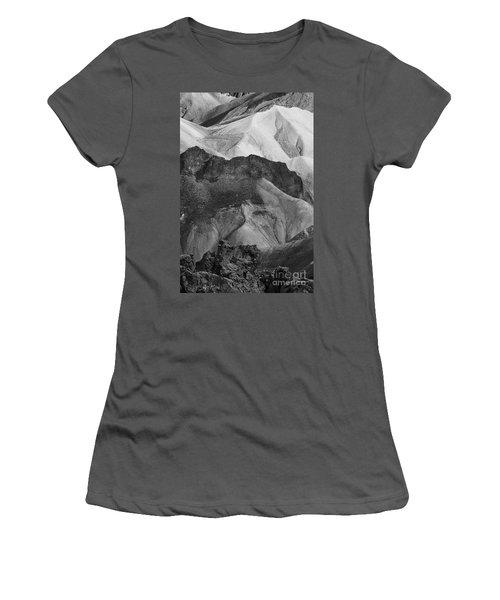 Landmannalaugar Iceland 6 Women's T-Shirt (Junior Cut) by Rudi Prott