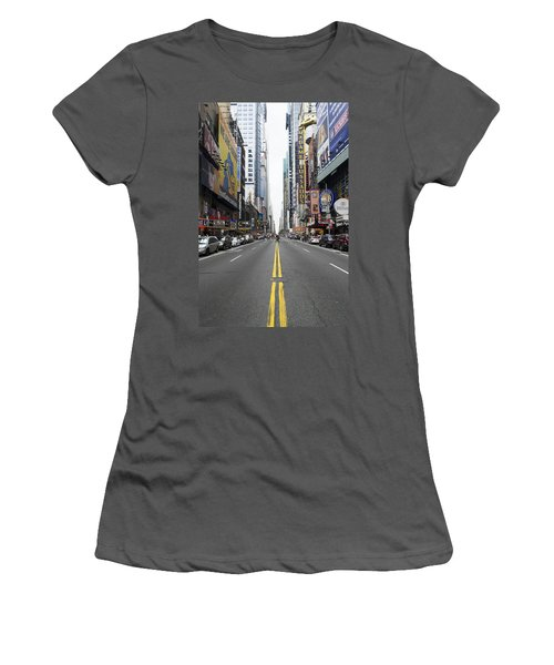42nd Street - New York Women's T-Shirt (Athletic Fit)