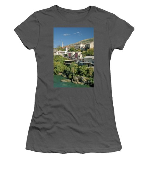 Mostar In Bosnia Herzegovina Women's T-Shirt (Athletic Fit)