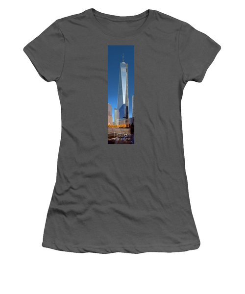 9/11 Memorial Women's T-Shirt (Athletic Fit)