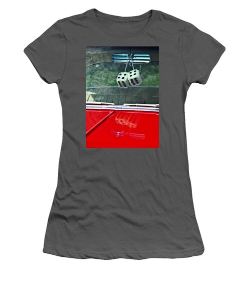 A Bit Dicey Women's T-Shirt (Junior Cut) by Mark Alder