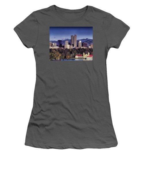 A Denver Autumn Women's T-Shirt (Athletic Fit)