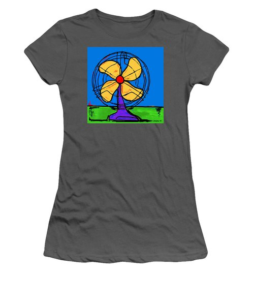 A Fan Of Color Women's T-Shirt (Athletic Fit)