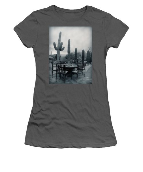 A Gentle Winter Rain Women's T-Shirt (Junior Cut) by Lucinda Walter