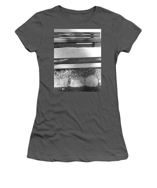 A Layered  Reconstruction Women's T-Shirt (Junior Cut) by Esther Newman-Cohen