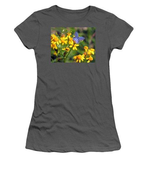 A Little Blue Women's T-Shirt (Athletic Fit)