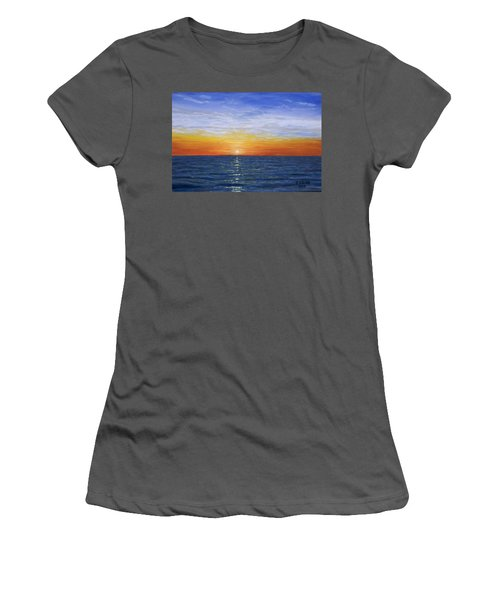 A Silent Moment Women's T-Shirt (Athletic Fit)