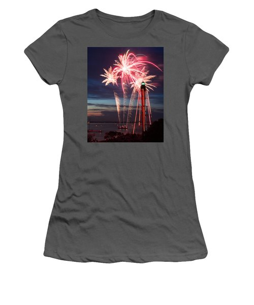 A Three Burst Salvo Of Fire For The Fourth Of July Women's T-Shirt (Athletic Fit)