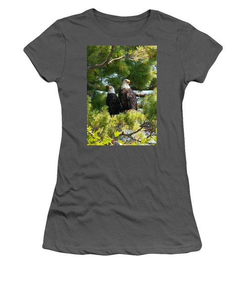 A Watchful Pair Women's T-Shirt (Athletic Fit)