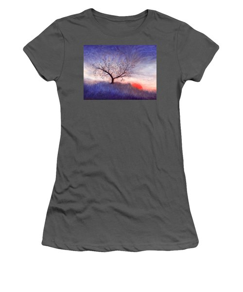 A Wintering Tree Women's T-Shirt (Athletic Fit)