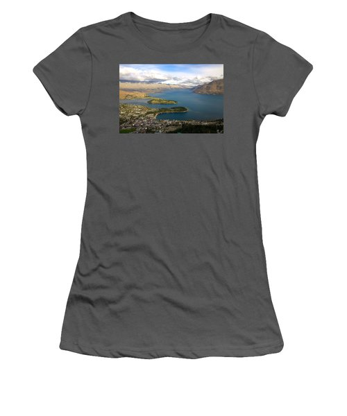 Above Queenstown Women's T-Shirt (Athletic Fit)