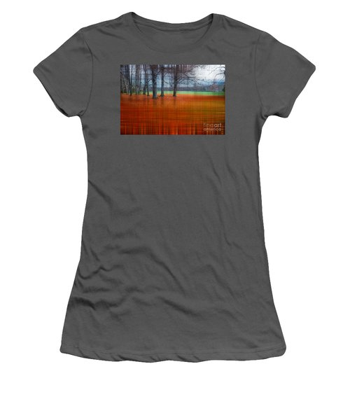 abstract atumn II Women's T-Shirt (Athletic Fit)